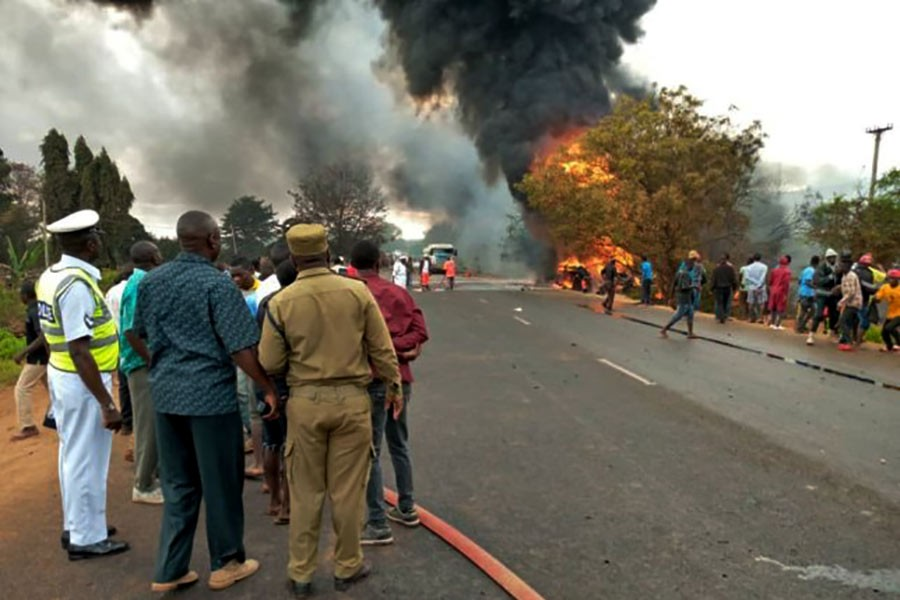 Tanzania tanker blast kills at least 60