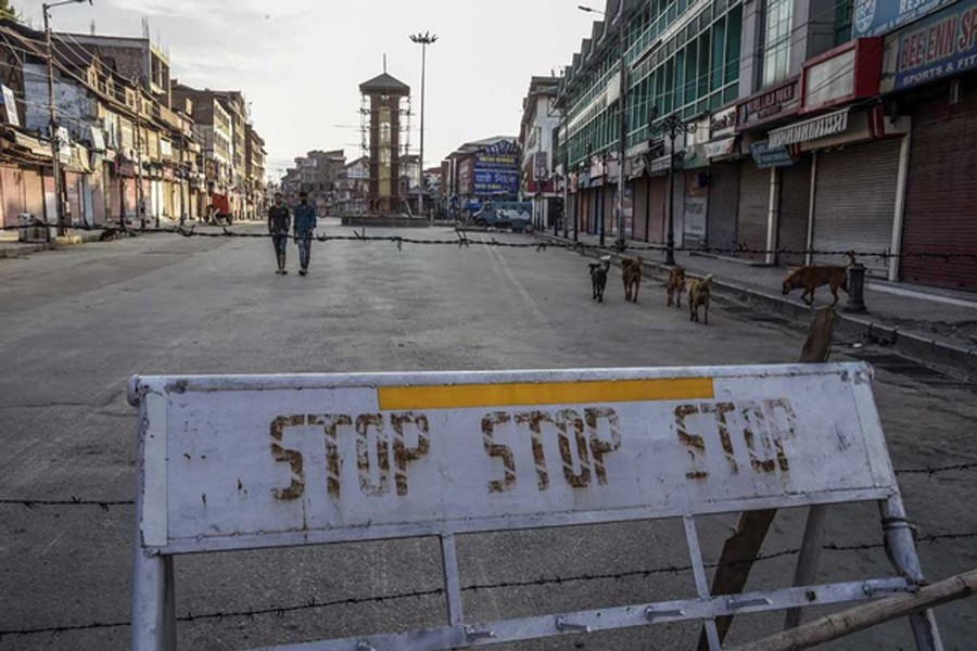 Security forces beat Kashmir people  for simply trying to buy foods