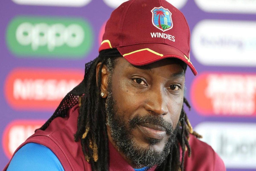 Gayle first WI player to play 300 one-dayers
