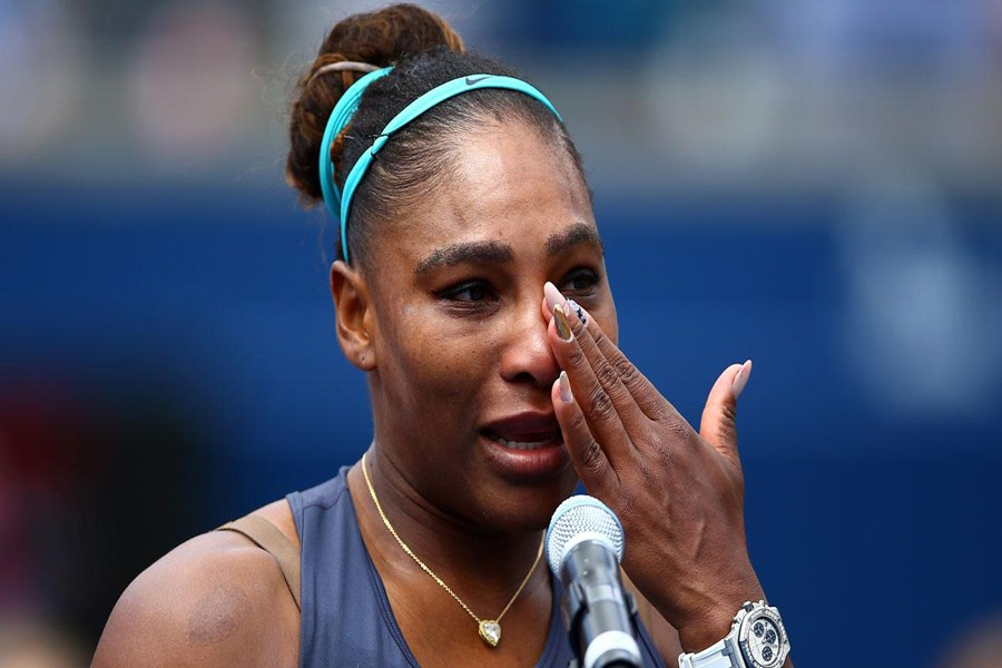 Serena retires because of injury as Andreescu wins Rogers