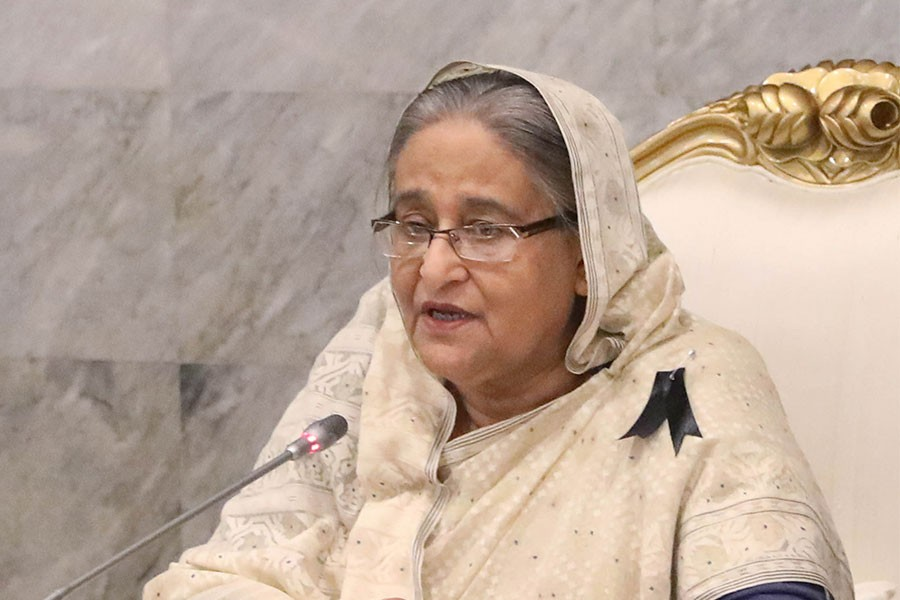 Sheikh Hasina came up with the directive while exchanging Eid greetings with officials at the Prime Minister's Office (PMO) - Focus Bangla photo