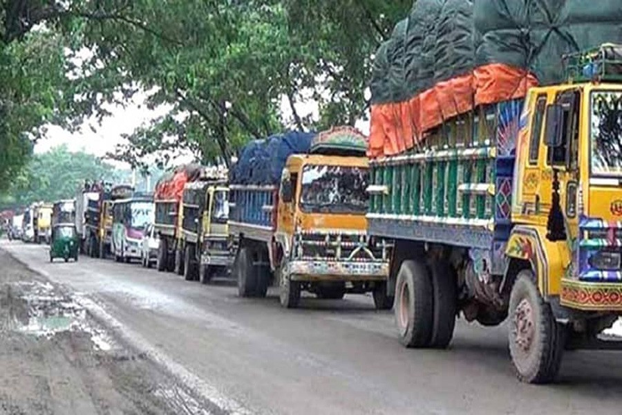 Over 5,500 trucks registered in Jan-July: BRTA