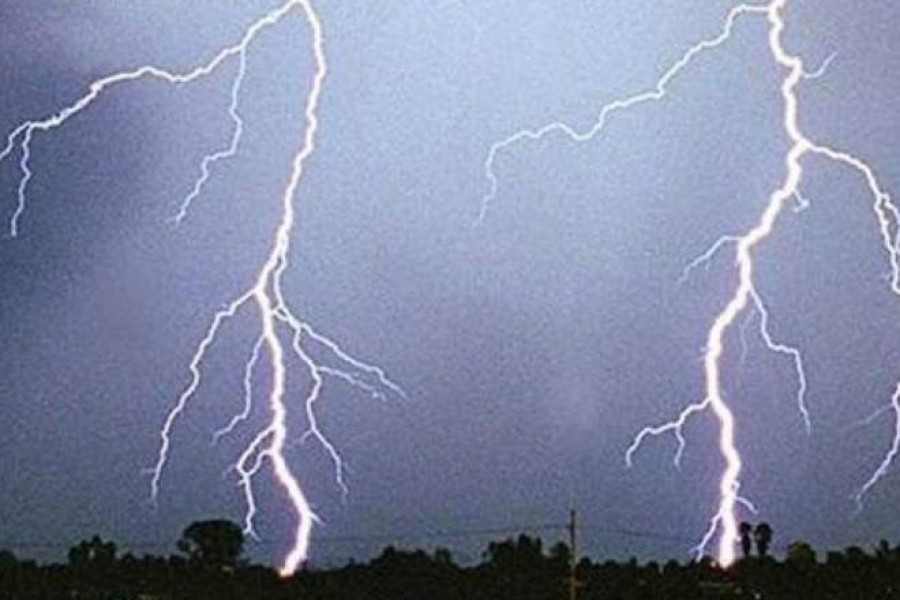 Lightning claims nine lives in four districts