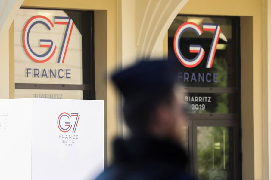 Global disputes likely to thwart unity at G7 summit