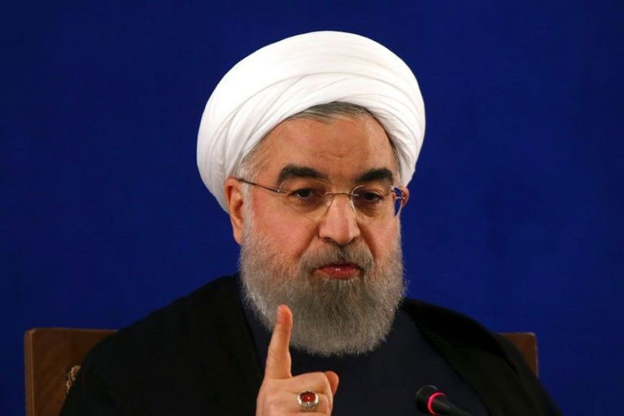 Iranian president Hassan Rouhani - AP file photo