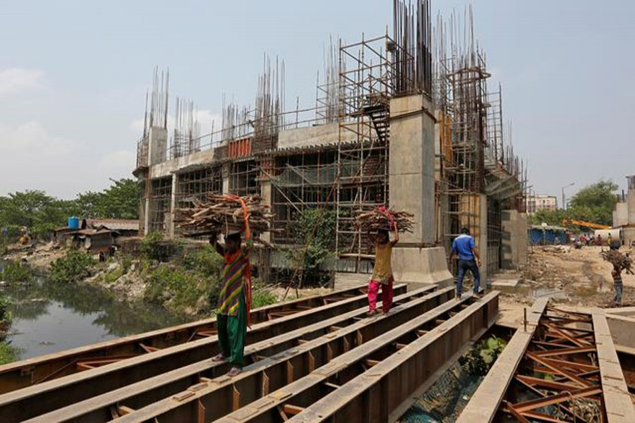 India's GDP growth hits six-year low