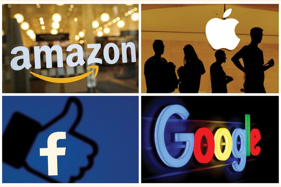 The rise of digital giants, such as Google, Facebook, Amazon and Apple, is an additional concern for all countries. Digitalisation makes it hard to establish where 'production' takes place. Hence, digital tech TNCs' revenues typically bear little relation to reported profits and tax bills. —Reuters file photo