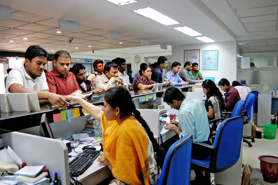 In private commercial banks, service quality of branches or branch employees may be measured by the number of customers handled everyday; number of complaints received or resolved everyday
