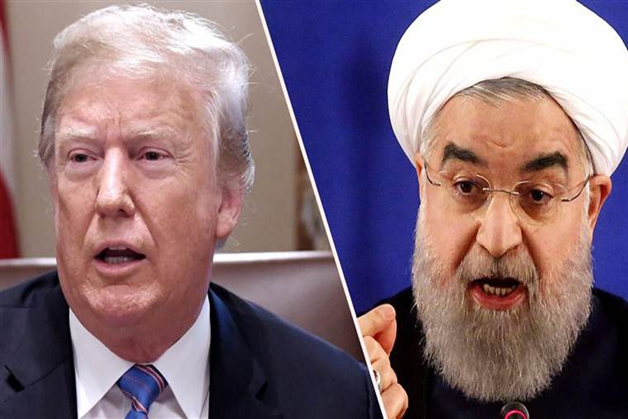 Trump says he could meet with Iranian President Rouhani
