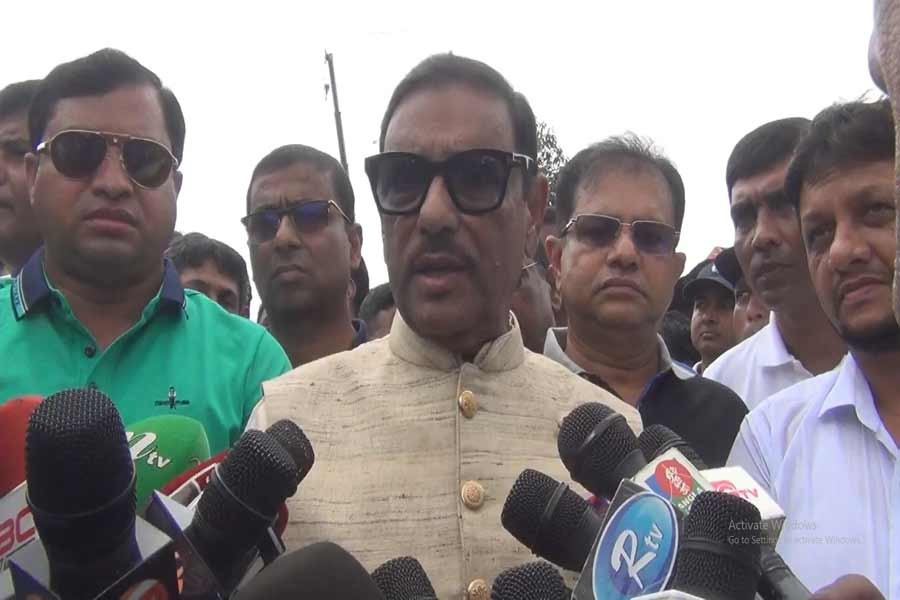 Quader welcomes BNP's decision to join Rangpur by-polls