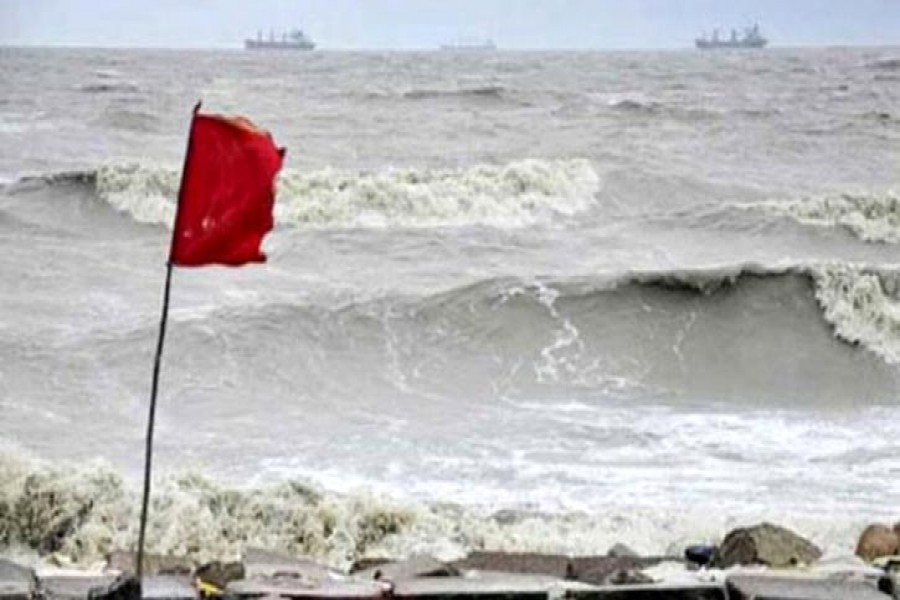 Warning signal for ports withdrawn