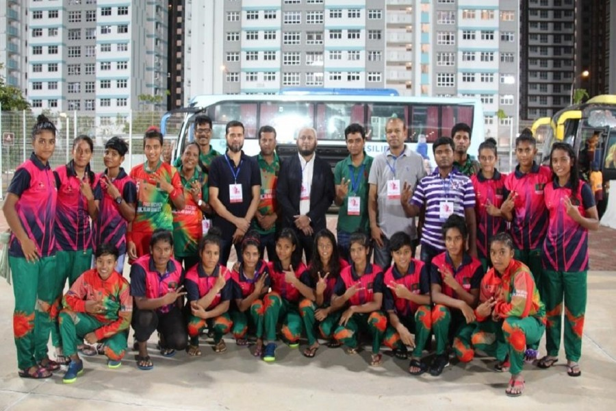 BD women's hockey team clinch first victory in int'l match