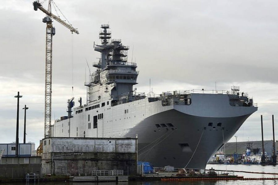 China to build warship for Thai navy