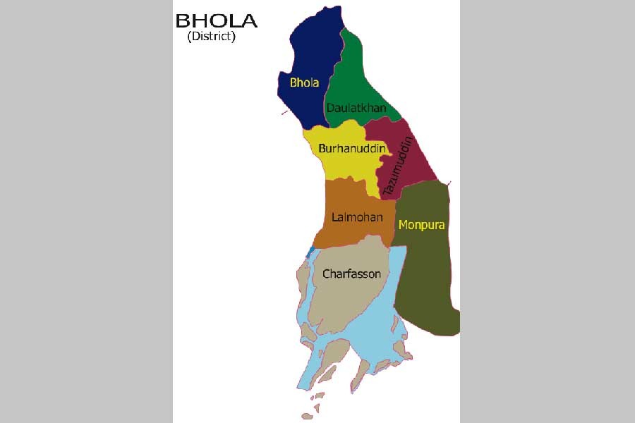 Body of housewife found in Bhola