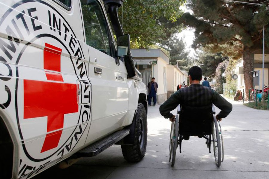 "Taliban leaders imposed a ban on the ICRC and the World Health Organization (WHO) in April saying the organisations were carrying out ""suspicious"" activities during vaccinations campaigns -Photo source: EPA"