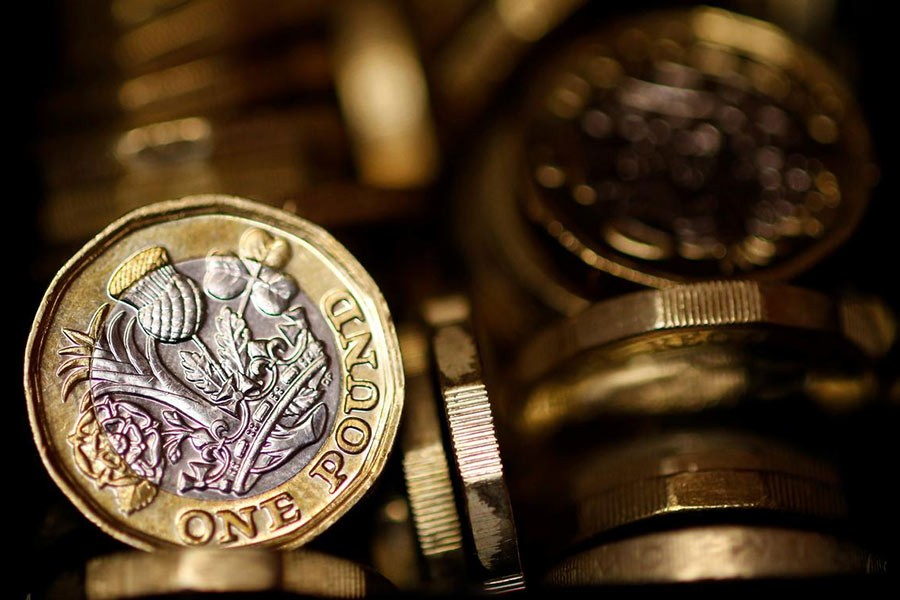 Pound climbs to highest level since July