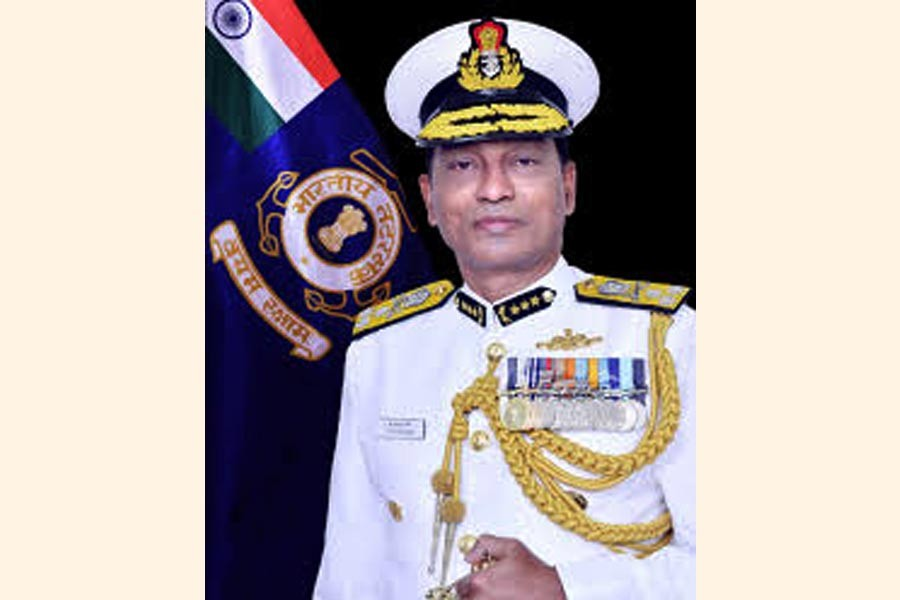 Indian Coast Guard DG arrives in city