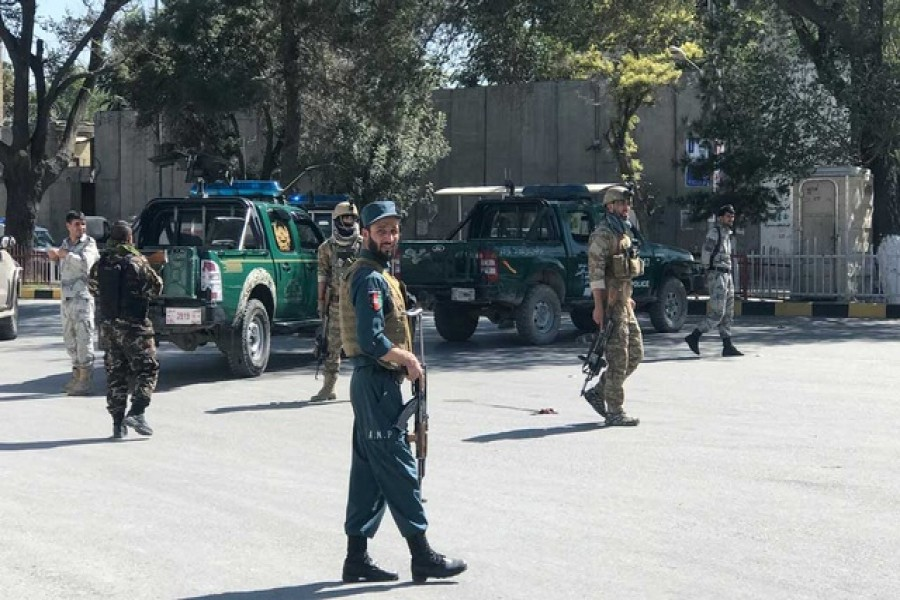 Blast kills 24 at Afghan election rally, aide says president unhurt