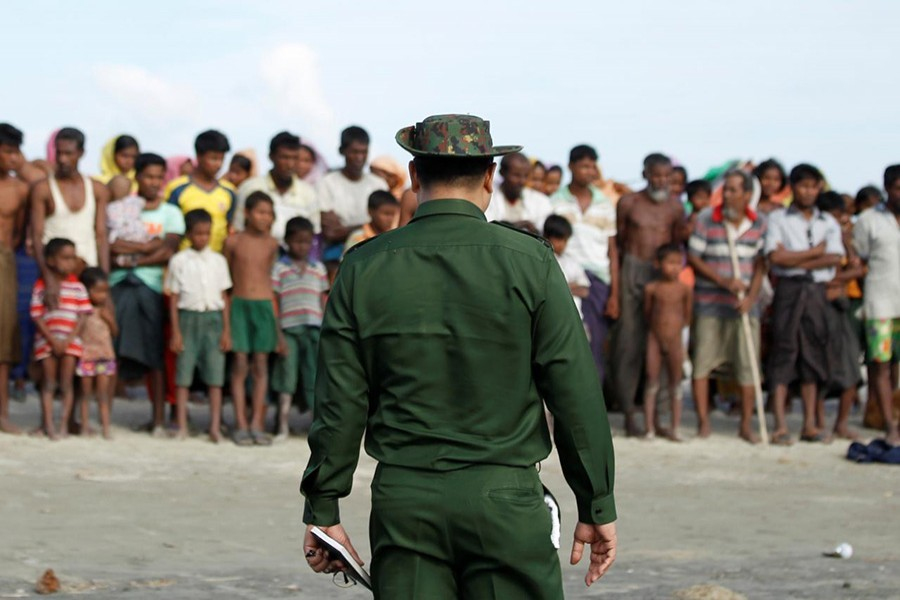 Myanmar does not recognise the Muslim-majority Rohingyas as citizens despite having lived in the country for generations - Reuters file photo used for representational purpose