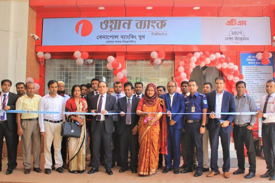 ONE Bank inaugurates Benapole Banking Booth