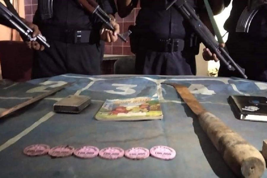 Gambling equipments found in three Chattogram clubs