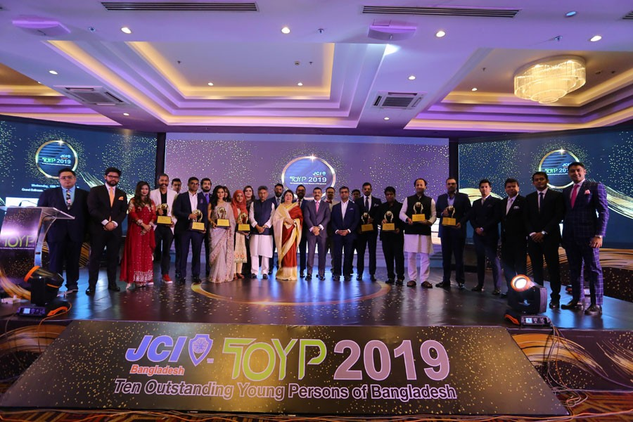 JCI Bangladesh recognises ten outstanding young persons