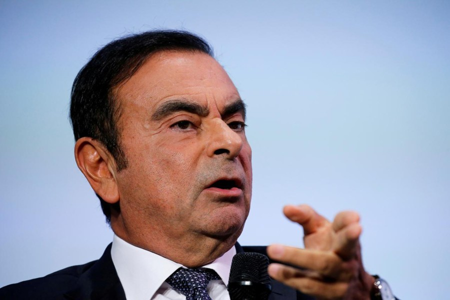 Former Nissan chairman Carlos Ghosn- Reuters file photo
