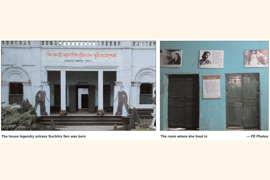 Dream girl's Pabna ancestral home stands derelict