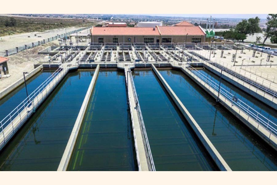 Design of the water treatment plant 	— FE Photo