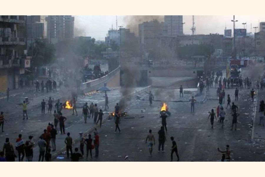 Death toll surges to 46 as  Iraq unrest accelerates