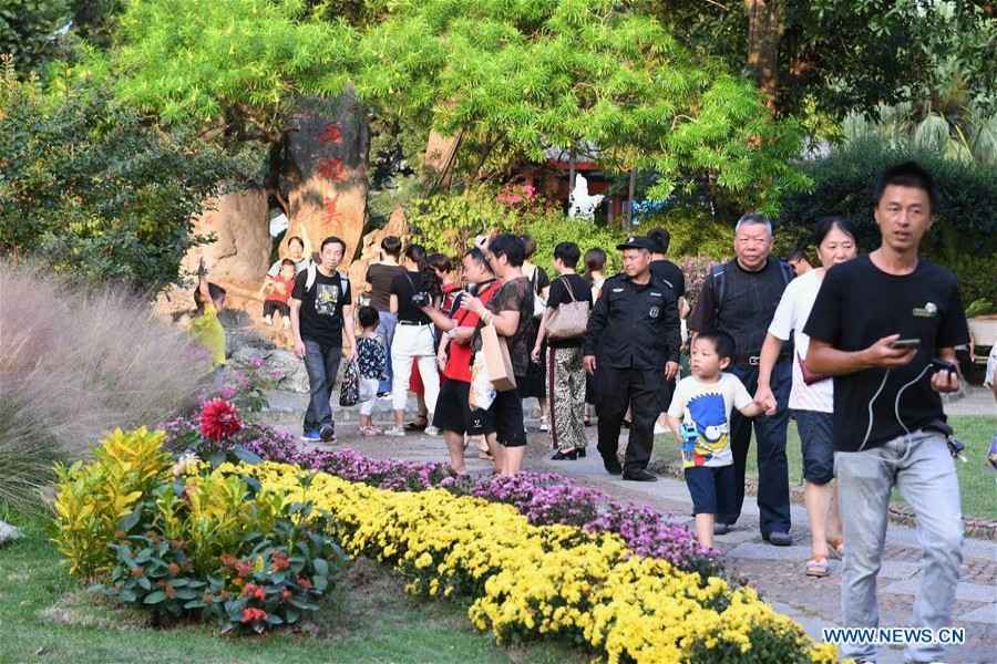 China sees 782m domestic tourist trips during National Day holiday