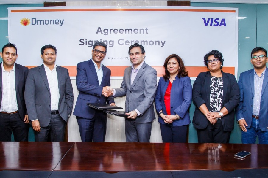 Dmoney partners with Visa to enable QR based payments