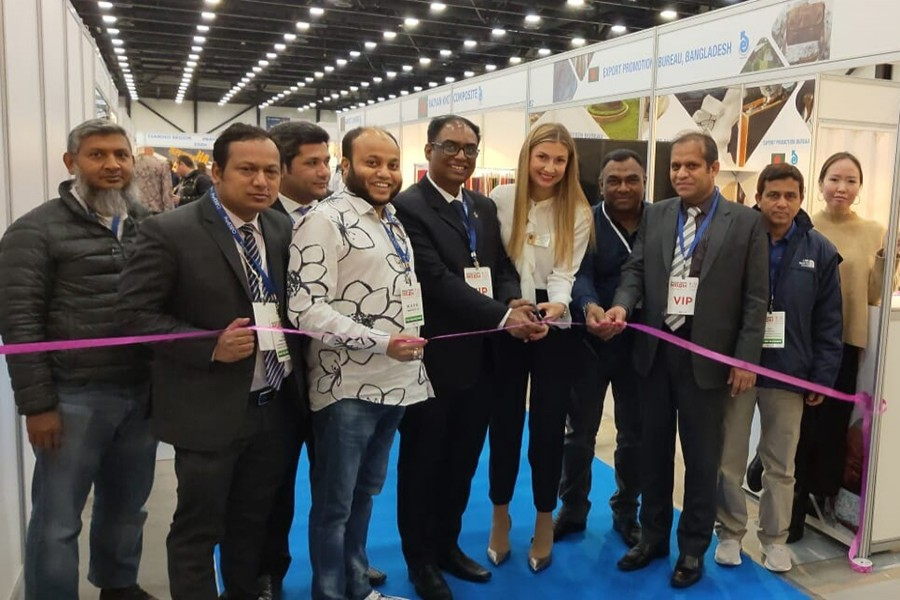 BD pavilion in Russia int'l trade fair gets appreciation