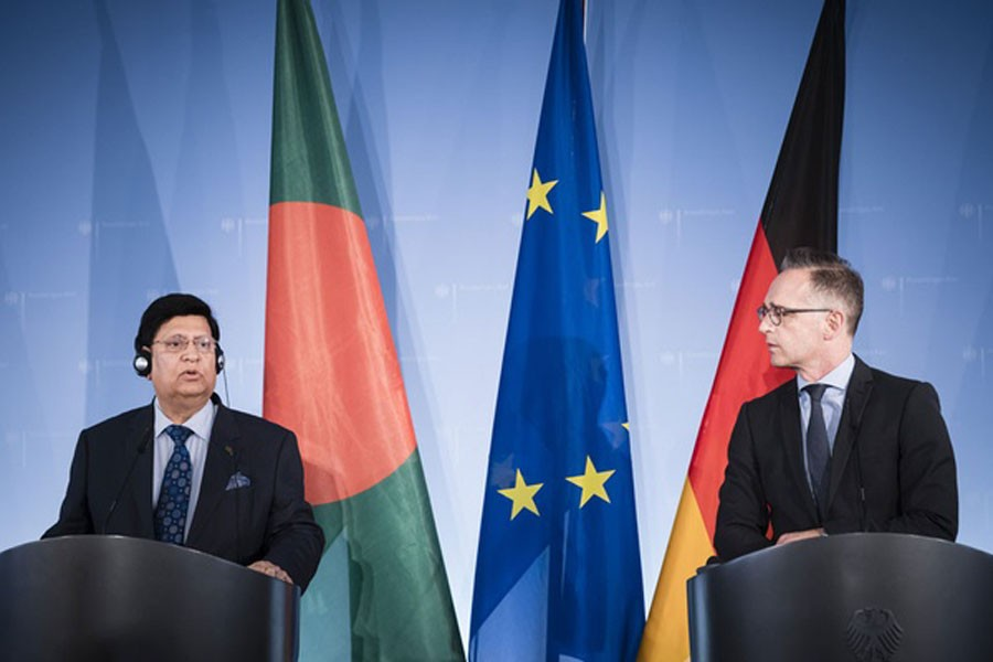 BD urges Germany to take 'effective steps' for Rohingya repatriation