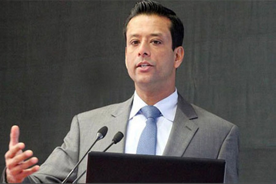 Information and Communication Technology Affairs Advisor to the Prime Minister Sajeeb Wazed Joy -- BSS/Files