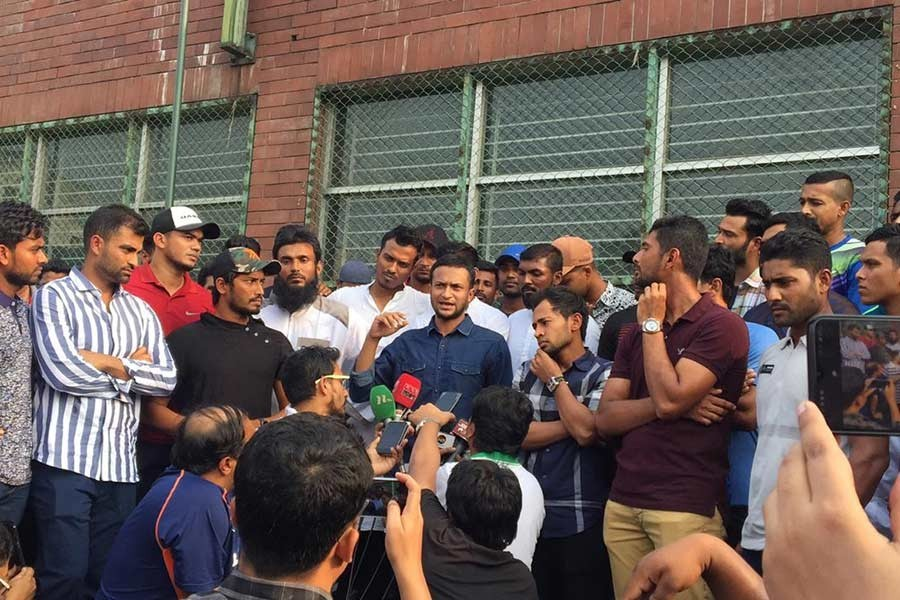 FICA support cricketers' strike for 'fair conditions'