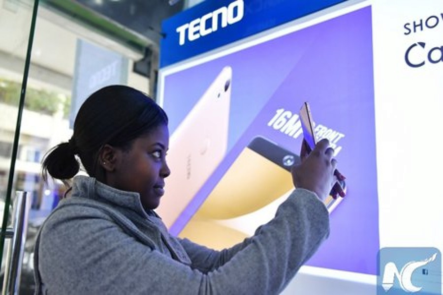 Chinese smartphones ring loud in Africa