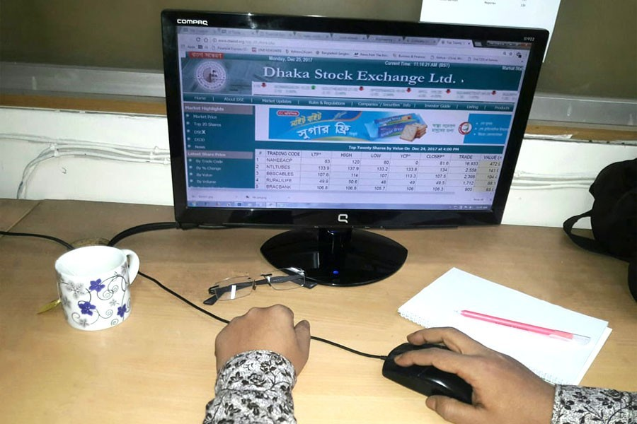 Ten cos account for 26pc transactions on DSE