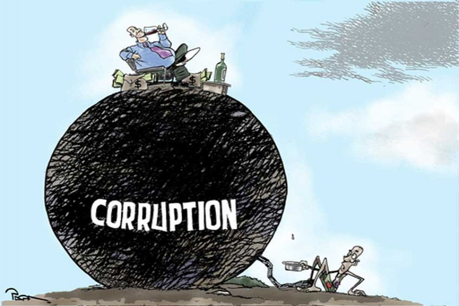 Curbing corruption should be top priority