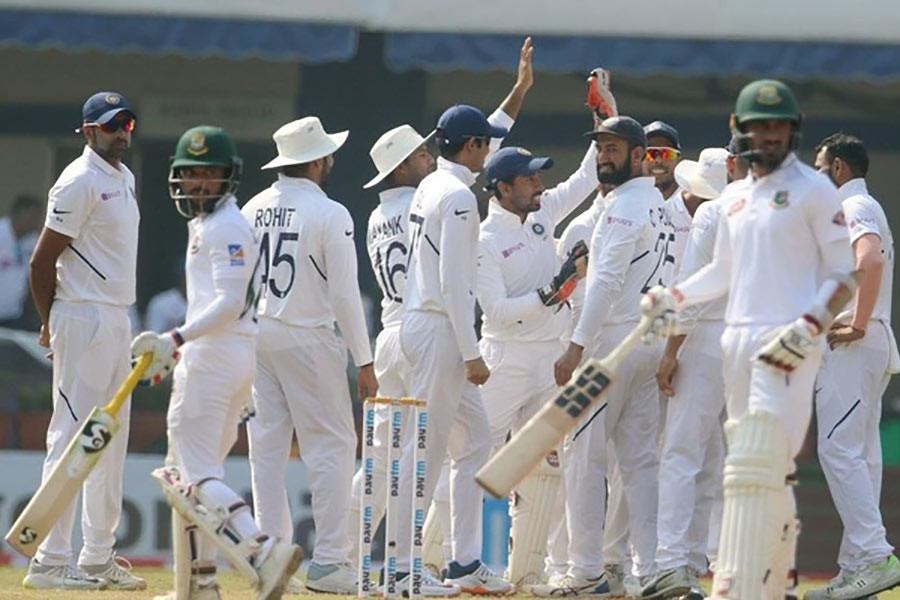 Bangladesh suffer heavy defeat against India