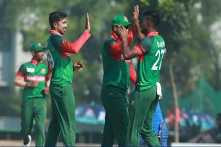 Bangladesh beat India in Emerging Teams Asia Cup