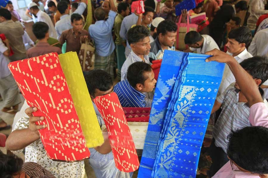 Major markets of woven fabric in Bangladesh