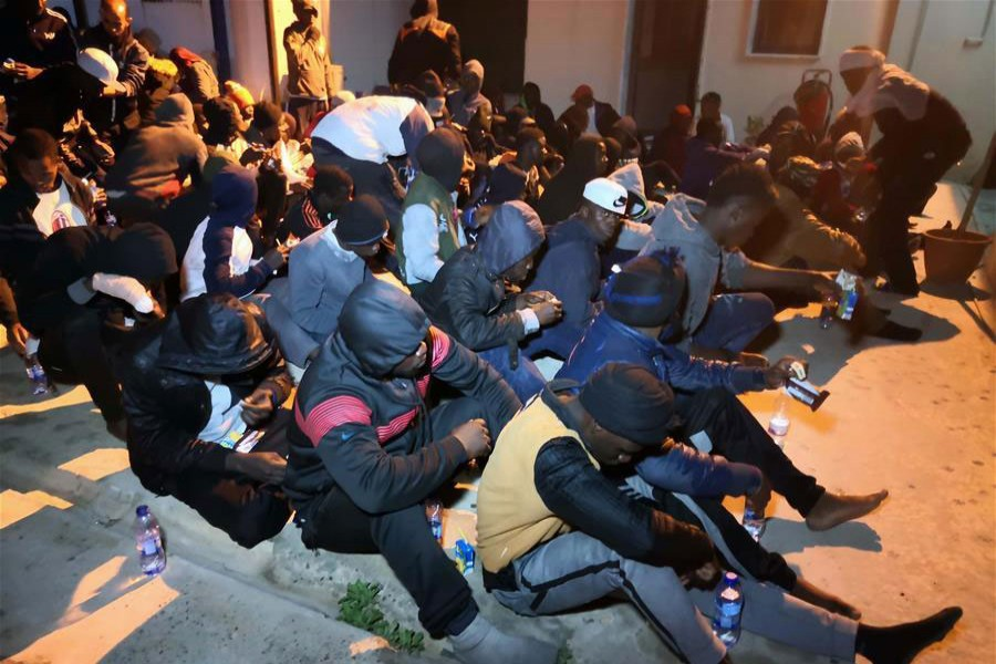 Libyan navy rescues over 200 migrants