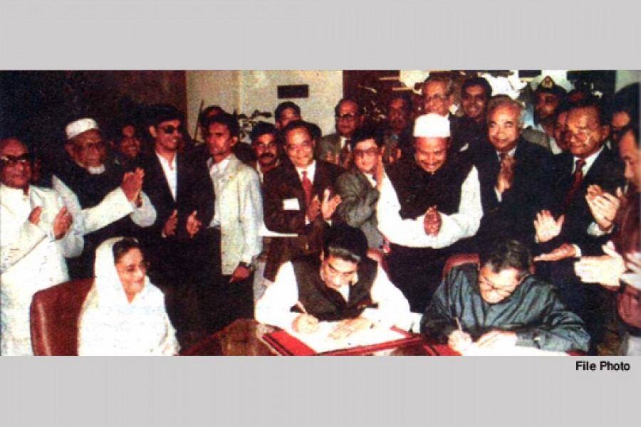 22nd anniversary of CHT Peace Accord today