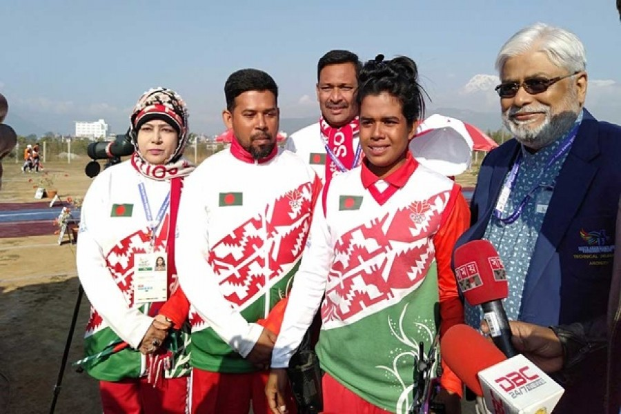 SA Games: Suma Biswas wins gold in archery