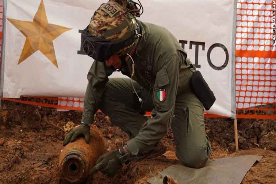 54,000 people evacuated after WWII bomb found in Italy