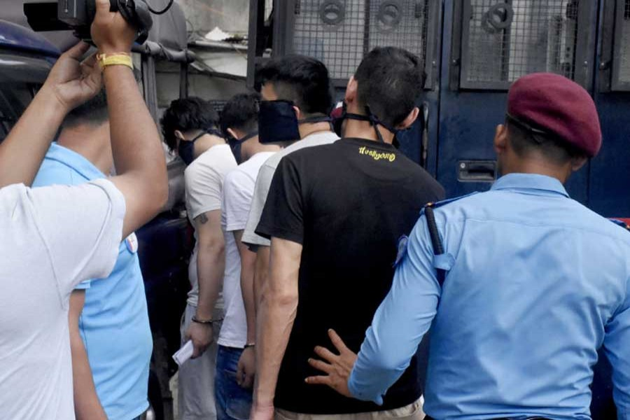 Nepal detains 122 Chinese for suspected cyber crime