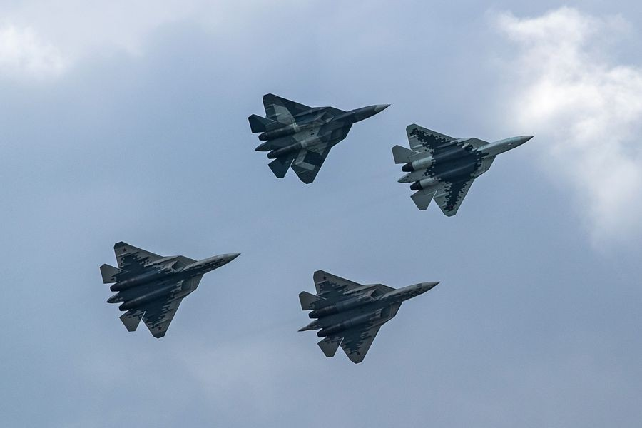 Pilot survives after Russia's newest Su-57 fighter crashes