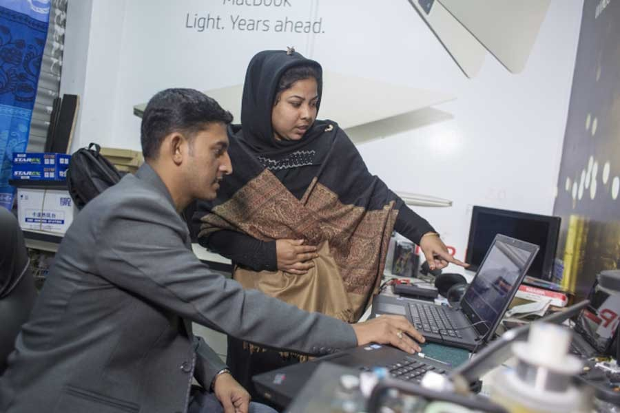 Producing skilled human resources for mkts abroad