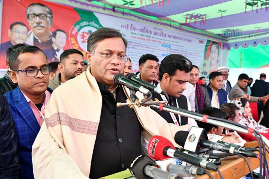 Khaleda's release possible through judicial process only: Hasan